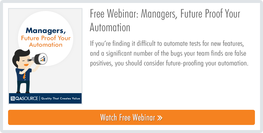 Webinar - Managers, Future Proof Your Automation